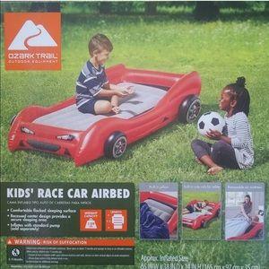 Kids/Toddler Ozark Race Car Twin Airbed Matress